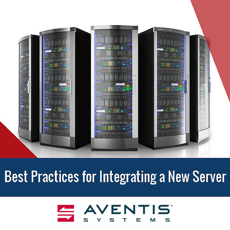 Best Practices for Integrating a New Server