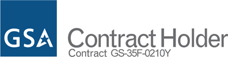 GSA Contract Holder. Contract GS-35F-0210Y