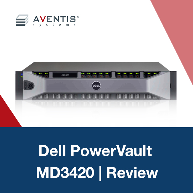 Dell PowerVault MD3420 Provides Performance, Flexibility, and Business Continuity