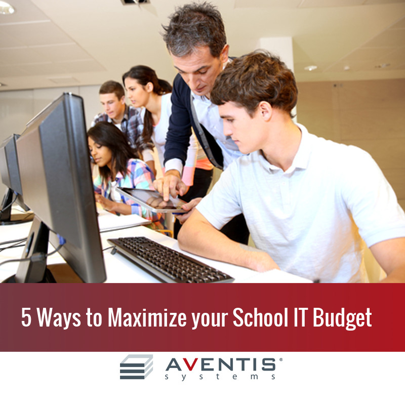 5 Ways to Maximize Your IT Budget for the 2015-2016 School Year