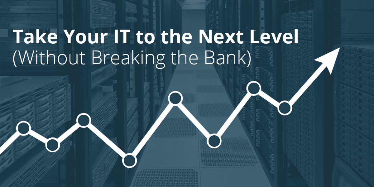 Take Your IT to the Next Level (Without Breaking the Bank)