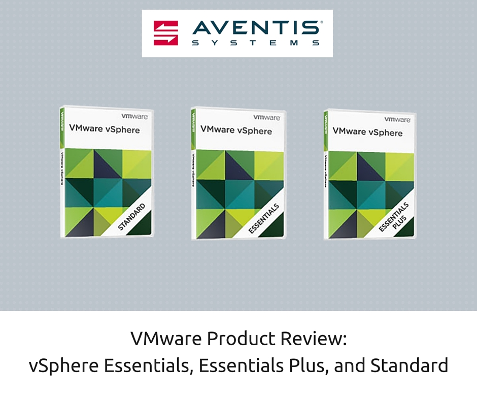 VMware Product Review | Aventis Systems